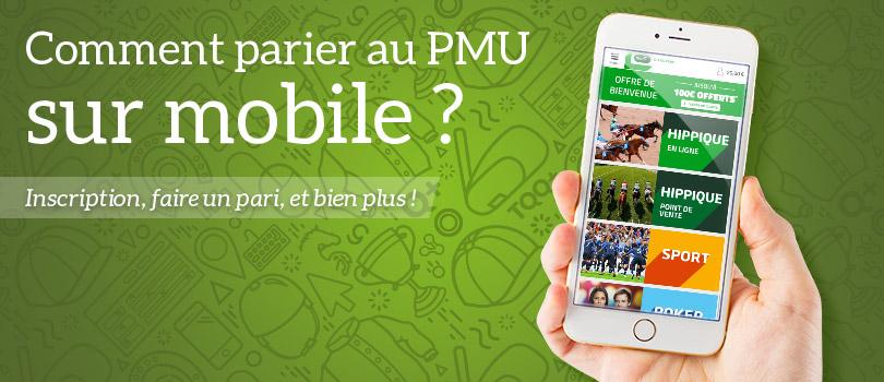 Comment parier au PMU sur mobile ?